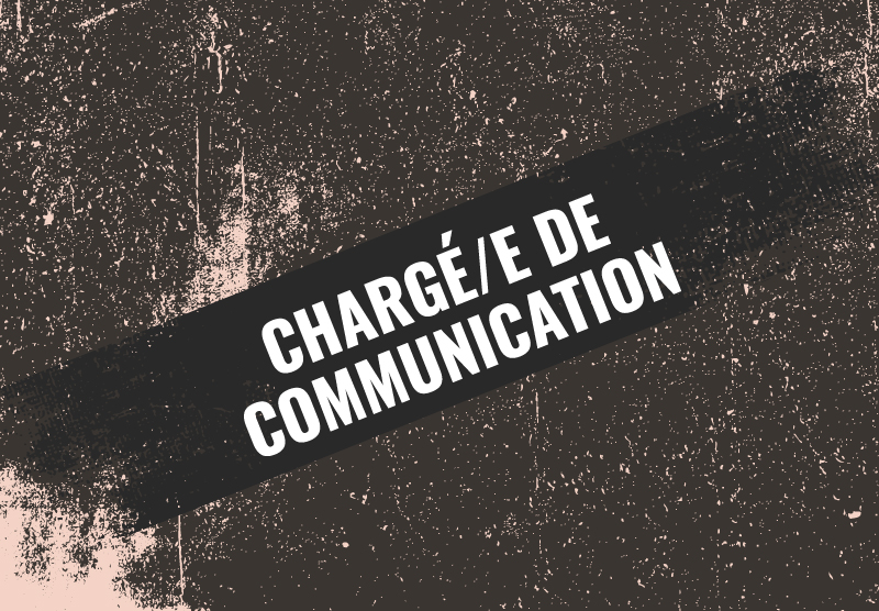 Chargé/e de communication